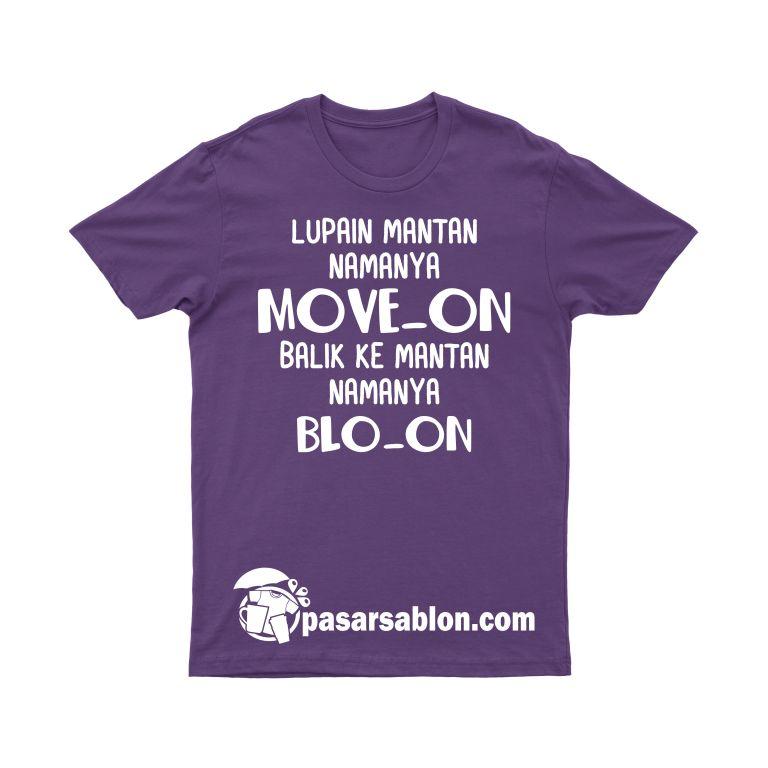 Pasar Sablon Kaos Move On