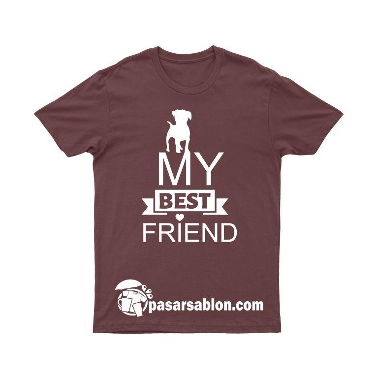 Pasar Sablon Kaos My Best Friend