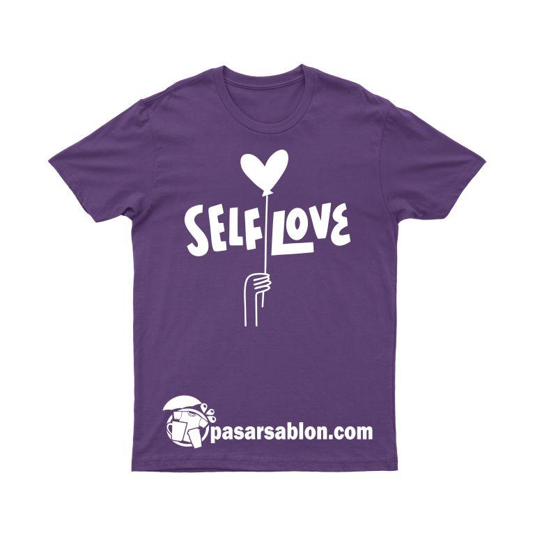 Pasar Sablon Kaos Self Love