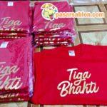Pesanan Kaos CV. Tiga Bhakti Surabaya