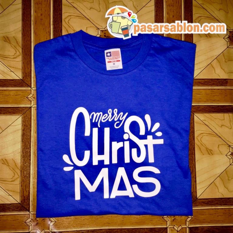 Terimakasih Pesanan Kaos Natal Warna Biru