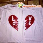 Terimakasih Pesanan Kaos Pasar Sablon Love Couple