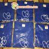 Jasa Sablon Kaos Surabaya Love With You Royal Blue