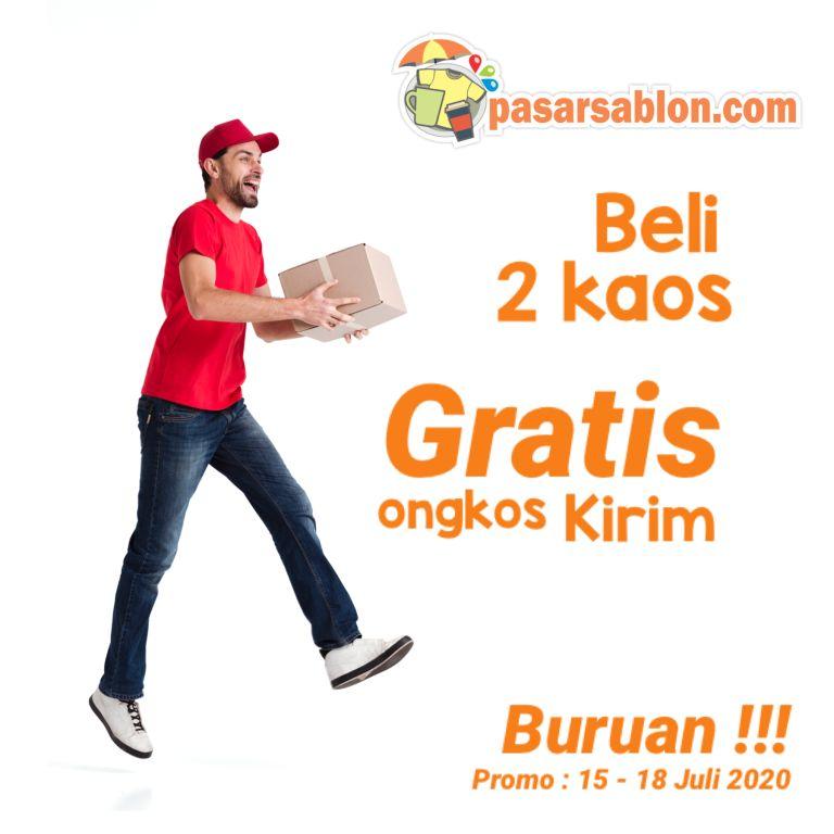 Promo Gratis Ongkir Pasar Sablon Surabaya 15-18 Juli 2020