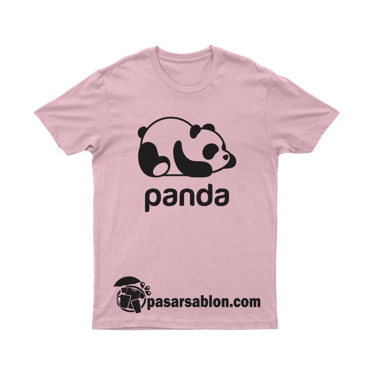 Jasa Sablon Kaos Desain Panda