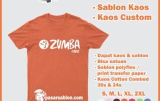 Jasa Sablon Kaos Satuan Fitness