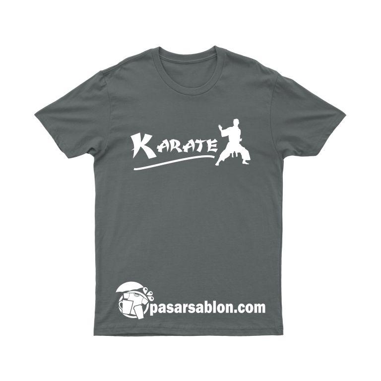 Jasa Sablon Kaos Beladiri Karate