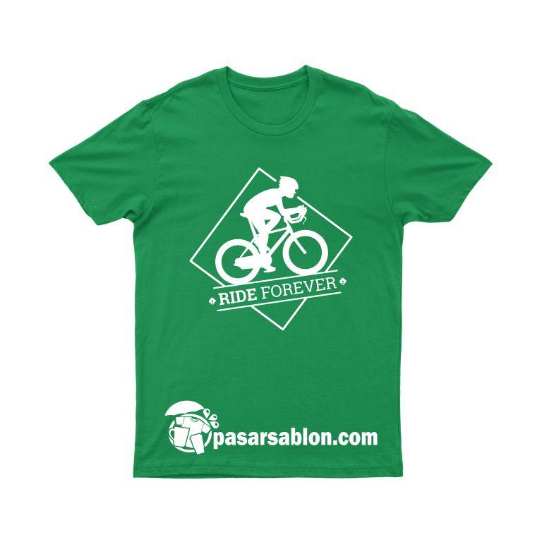 Jasa Sablon Kaos Satuan Ride Forever